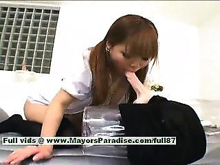 Yuri Haruna Hot Girl Hot Chinese Maid Likes Getting Her Pussy Drilled Hard