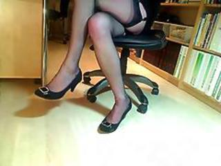 Amateur Black Stockings