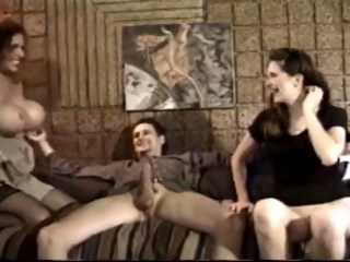 Big Tits  Threesome Vintage