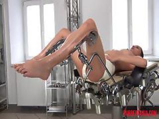 Naughty Rubber Doctor And Patient In Rubber Clinic