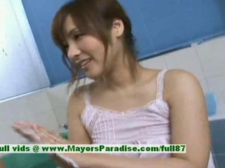 Nao Ayukawa innocent naughty chinese girl gives head in..