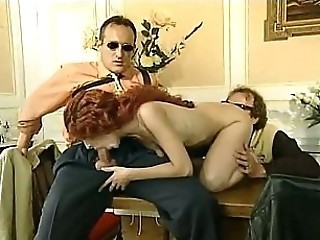 Blowjob European French Threesome Vintage