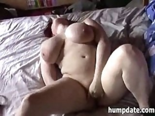 Busty german redhead girlfriend masturbates