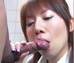 Asian Blowjob Clothed Japanese Toilet