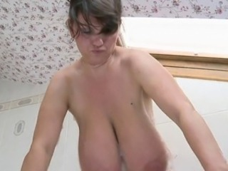 Bathroom Big Tits Mature