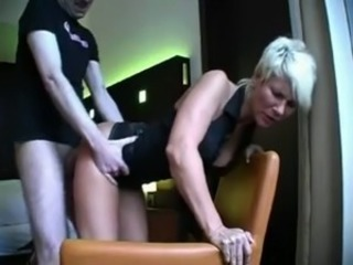 German Mom Doggystyle
