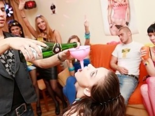 Mad girls make love at fucking party