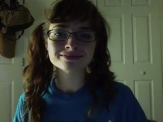 Glasses Pigtail Teen