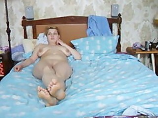 Amateur Chubby Homemade Russian  Wife