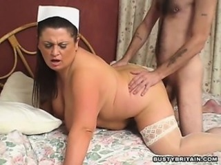 Big Tits Doggystyle Hardcore Mature Mom Nurse Old and Young Stockings