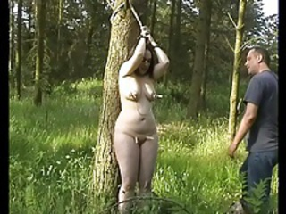 Bondage Chubby Outdoor Slave Teen