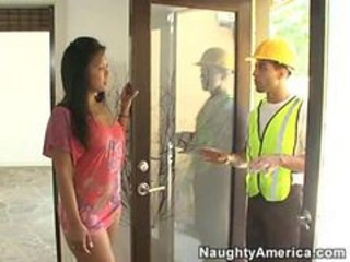 Amazing Asian Interracial  Pornstar