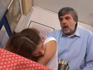 Clothed Daddy Daughter Doggystyle Old and Young Teen