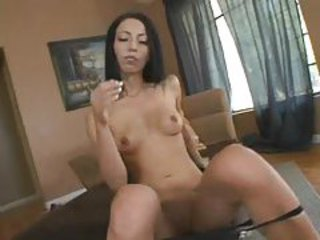 Super skinny slut strips to play with her cunt tubes