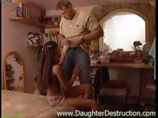 Blowjob Daughter Old and Young Pigtail