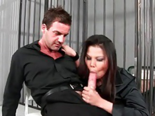 Blowjob Clothed  Prison