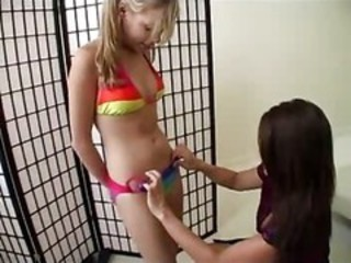 Bikini Daughter Lesbian  Mom Old and Young Teen