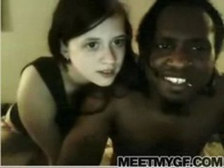 Interracial Old and Young Teen Webcam