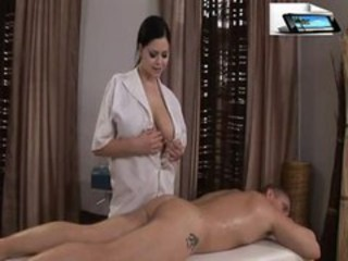 Big Tits Massage  Natural Stripper
