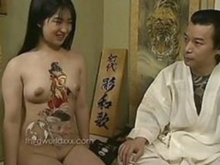 Asian Tattoo Teen