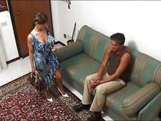 Big Tits European Italian MILF Wife