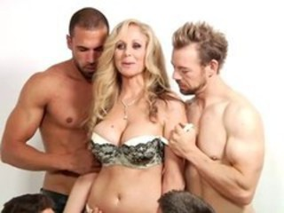 Big Tits Gangbang Lingerie  Mom Old and Young