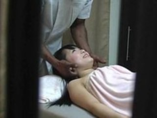 Asian HiddenCam Massage Voyeur Wife