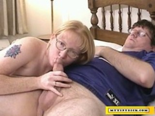 "Mature blonde sucking on a small cock"" target=""_blank"