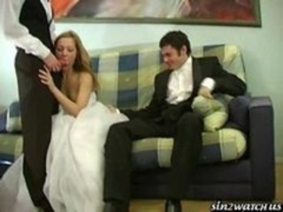 "Sexy Better half gets fucked wide of team a few groomsmen"" target=""_blank"