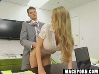 "Secretary wants a rise she'll fuck boss"" target=""_blank"