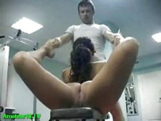 "She went to the gym to get her face fucked in any flexible position"" target=""_blank"