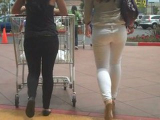 "More of Miss White Jeans with nice ass And butt !"" target=""_blank"