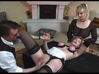 Bondage Maid  Threesome Uniform