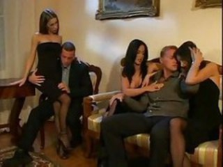 European French Groupsex Orgy Vintage
