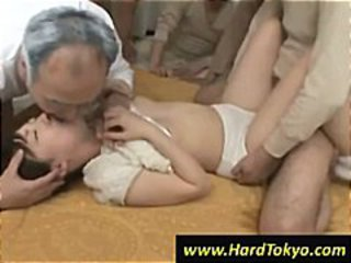 Asian Japanese Kissing Threesome