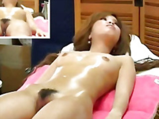 Asian Hairy HiddenCam Japanese Massage Skinny Small Tits Teen