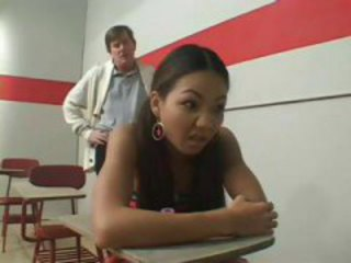Asian Daddy Interracial Old and Young School Student Teacher Teen