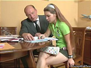 Nina And The Tricky Old Teacher