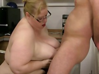 Big Tits Glasses  Natural Tits job