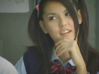 Asian Babe Cute Japanese Student Teen Uniform