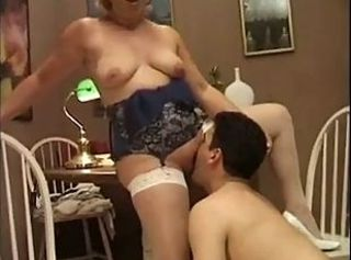 Chubby Lingerie Licking Mature Old and Young  Stockings Teacher