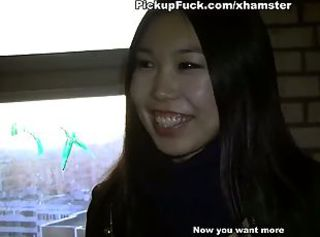 Young Asian sucks dick in the ass and gives
