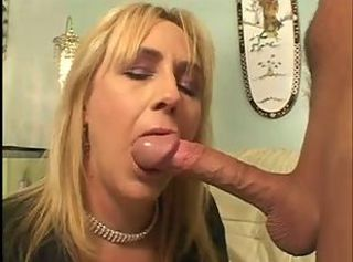 Horny mature seduces a big cock