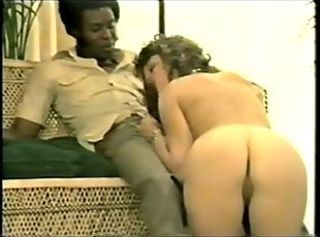 Ass Blowjob Interracial Vintage