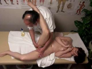 Young Wife Gets Massage