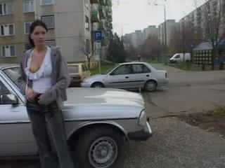 masturbating in the street