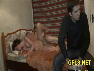 "Naughty Young Womanlike Having A Nice Fuck With European Gigolo"" class=""th-mov"