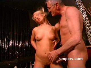 Sexy submissive blonde getting fucked