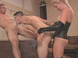 Slave gets face and ass fucked Sex Tubes