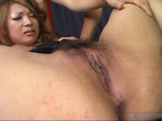 Asian Babe  Hairy Japanese Pussy